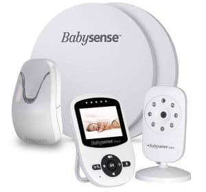 New-Model- Babysense Video and Baby Movement Monitor